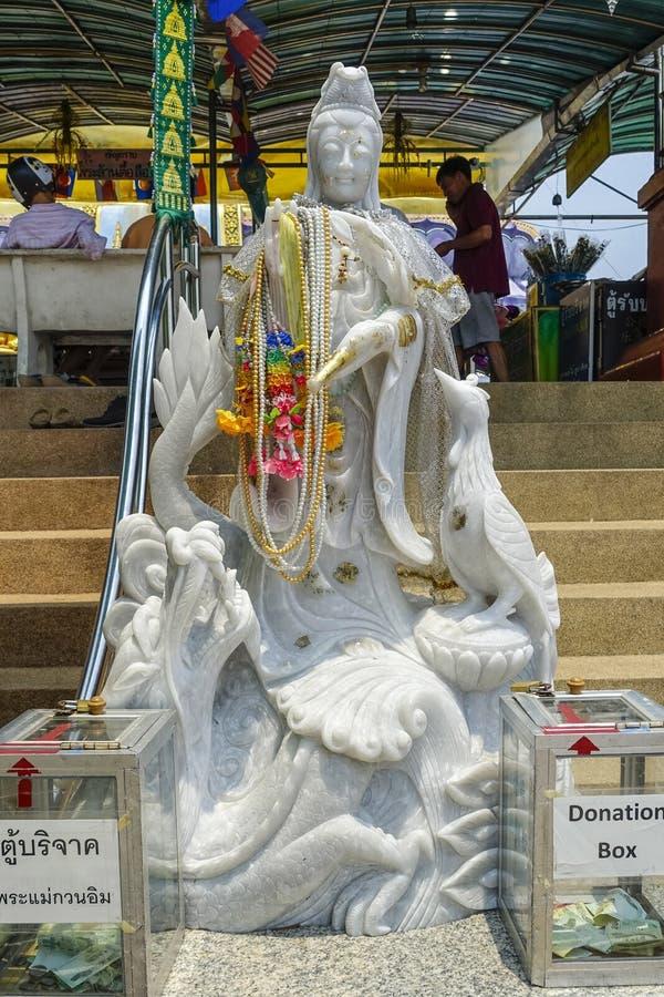 Statue de pierre de Goddes, concession Rurak, Thaïlande images libres de droits