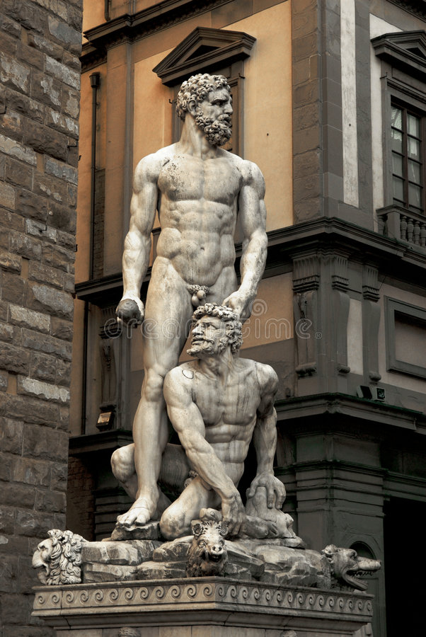 Statue de Poseidon photo stock