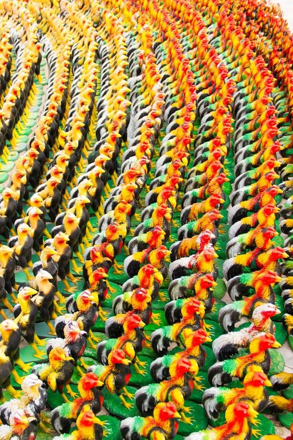 Statue de poulet image libre de droits