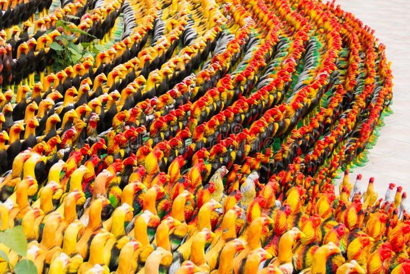 Statue de poulet images libres de droits