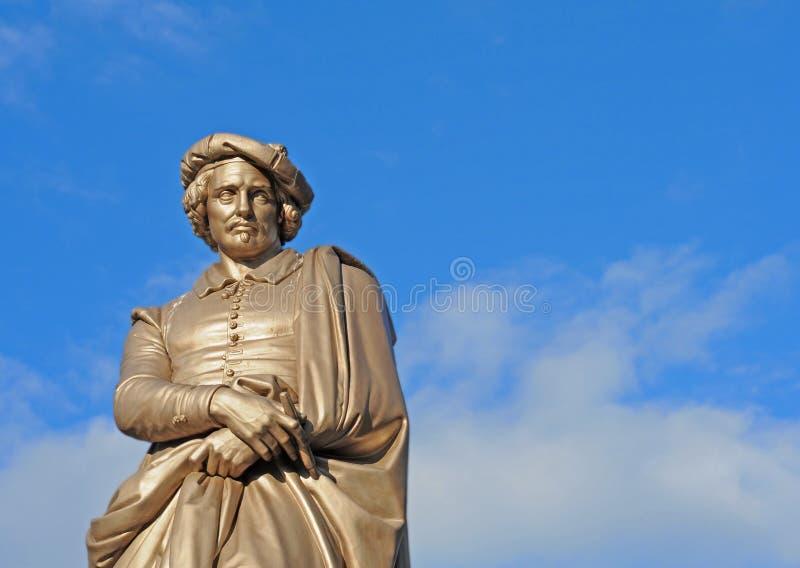 Statue de Rembrandt, Amsterdam image stock