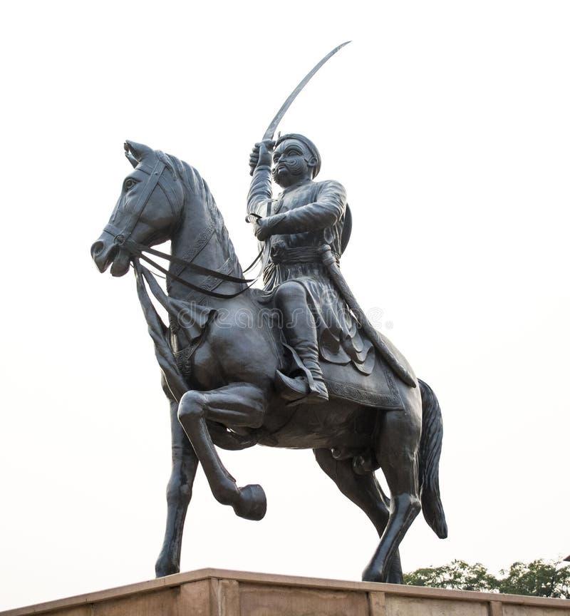 Statue de roi photo libre de droits