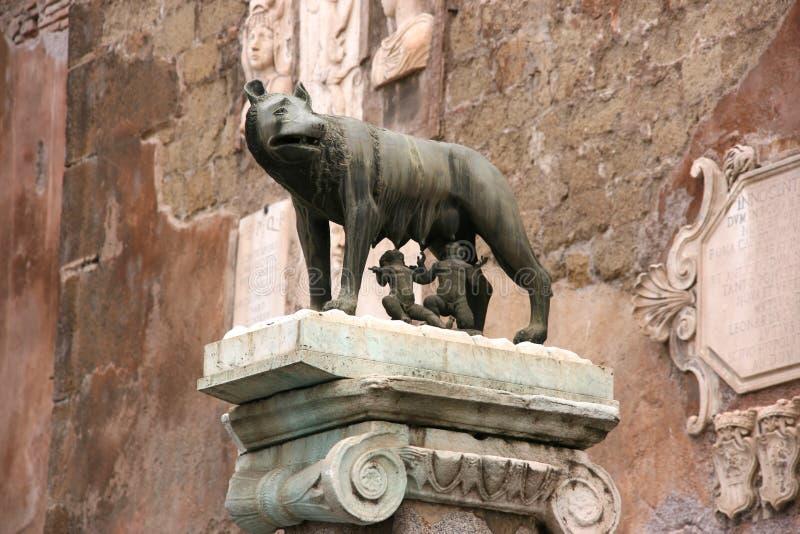 Statue de Rome images libres de droits
