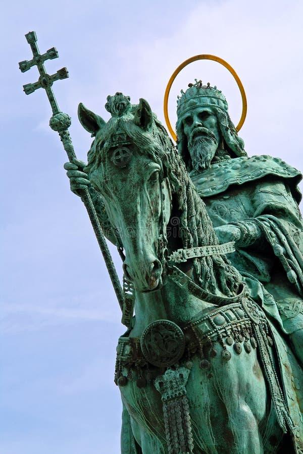 Statue de rue stephen - plan rapproché photo stock