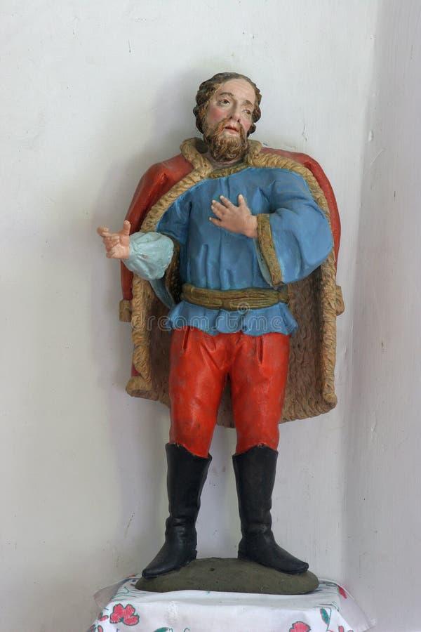 Statue de saint photographie stock libre de droits