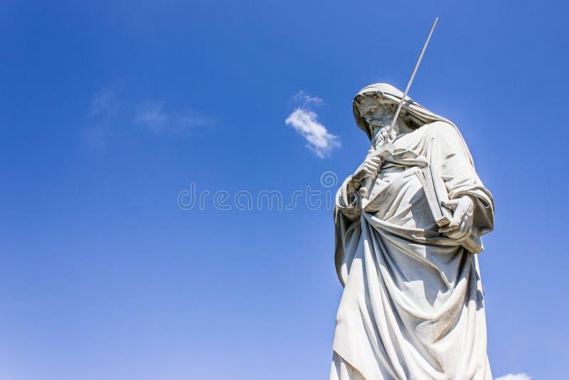 Statue de Saint Paul image stock