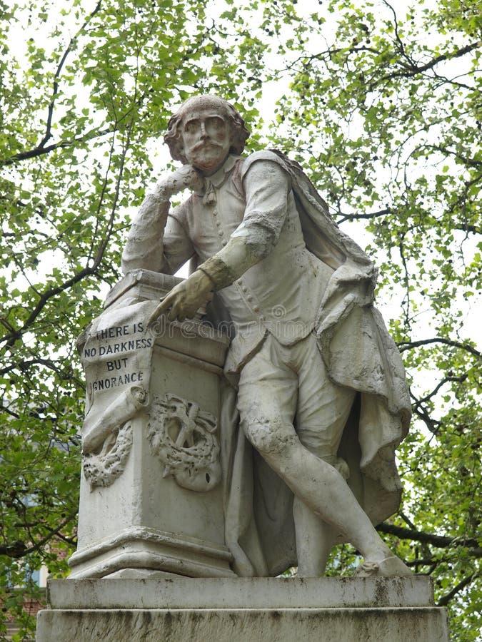 Statue de Shakespeare photos libres de droits