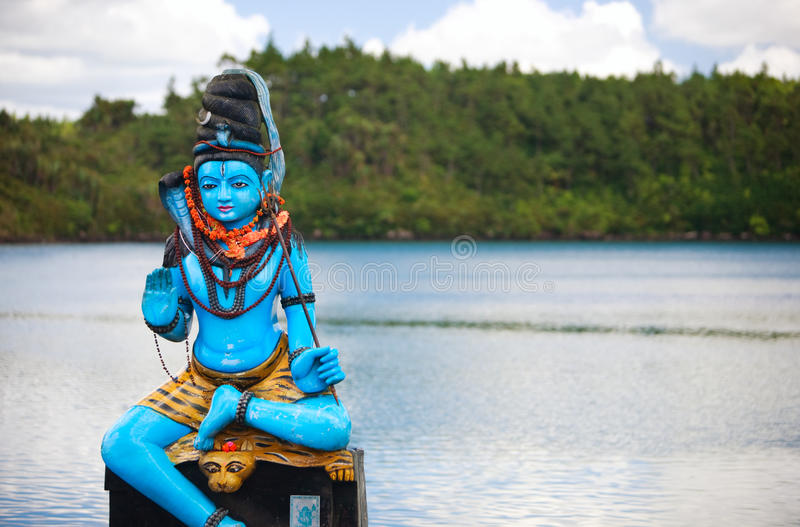 Statue de Shiva image libre de droits