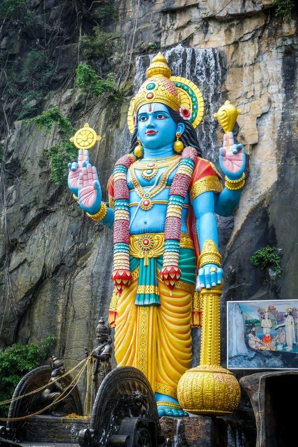 Statue de Shiva en cavernes temple, Kuala Lumpur, Malaisie de Batu photo stock