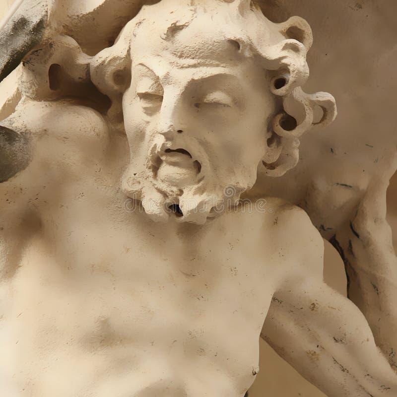 Statue de Sisyphus photographie stock