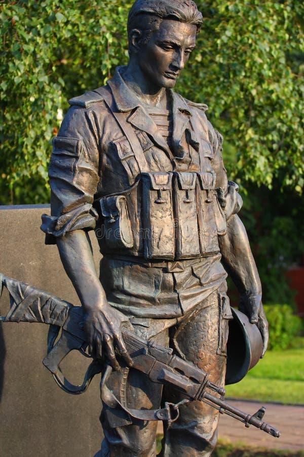 statue de soldat image libre de droits