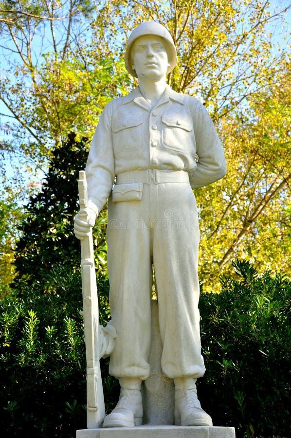 Statue de soldat inconnu photos libres de droits