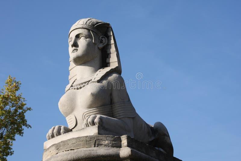 statue de sphinx photographie stock libre de droits