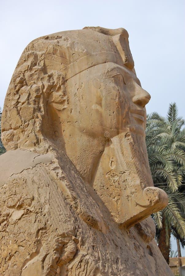 Statue de sphinx d'albâtre photographie stock libre de droits