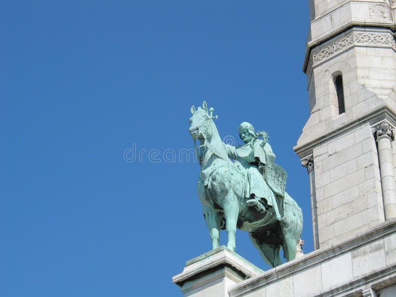 Statue de St Louis photo stock