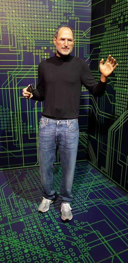Statue de Steve Jobs images libres de droits