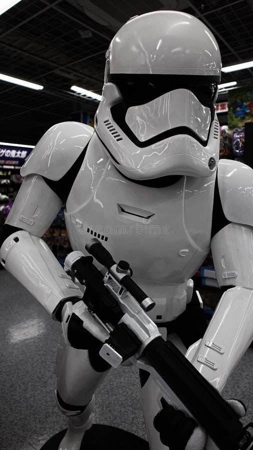 Statue de Storm Trooper photographie stock