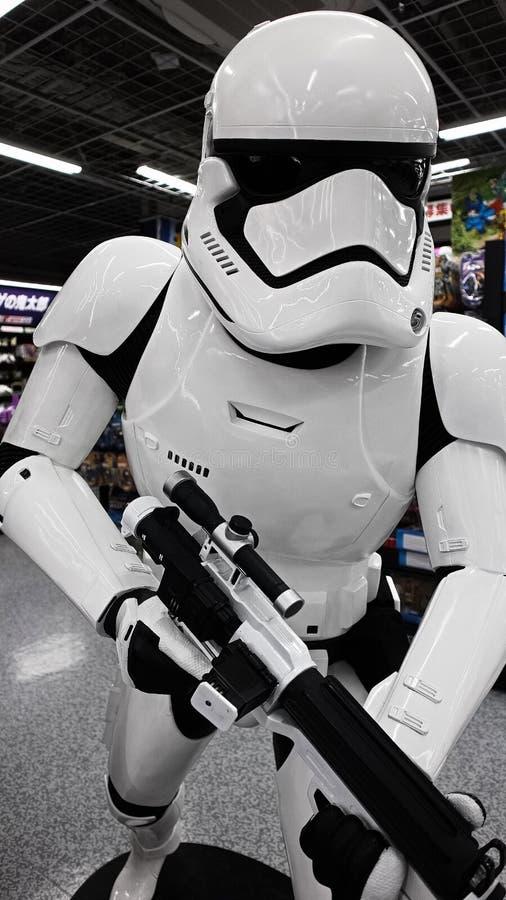 Statue de Storm Trooper photos libres de droits
