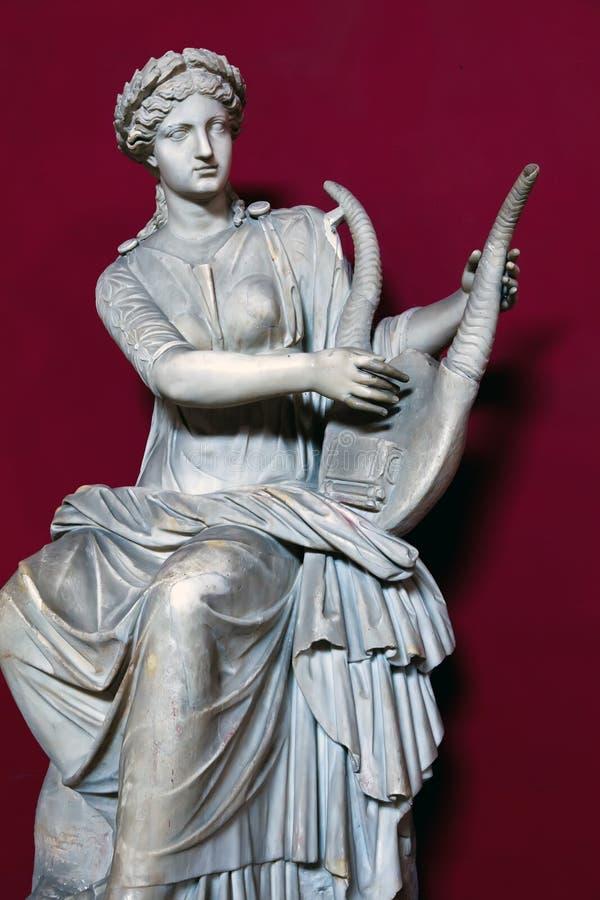 Statue de Terpsichore image stock