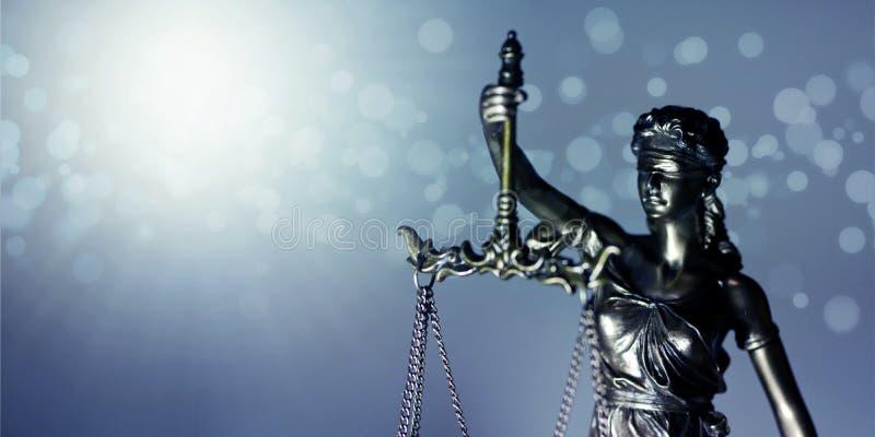 Statue de Themis - d?esse de justice Image de plan rapproch? avec l'espace de copie photo libre de droits