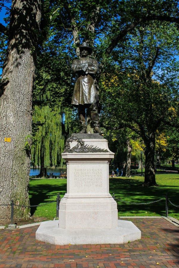 Statue de Thomas Cass image stock