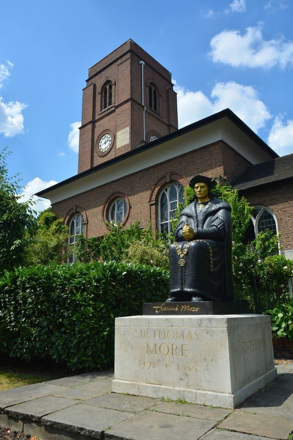 Statue de Thomas More images stock
