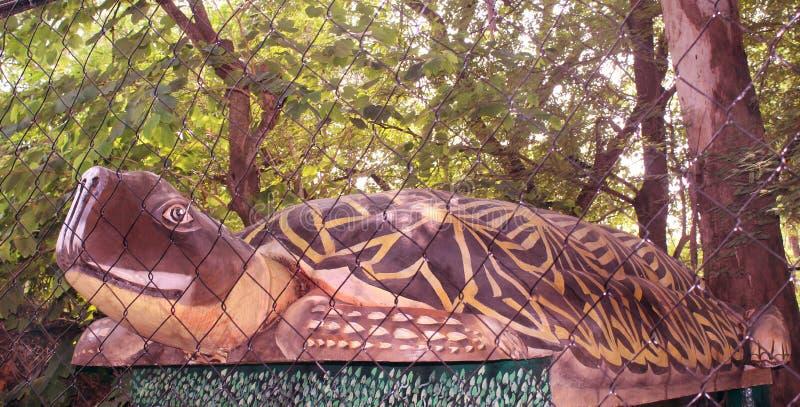 Statue de tortue image stock