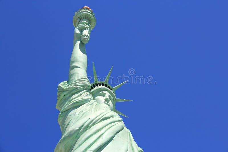 Statue de Vegas de la liberté image stock