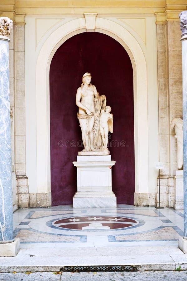 Statue de Veneri Felici dans le musée de Vatican, Rome, Italie images stock