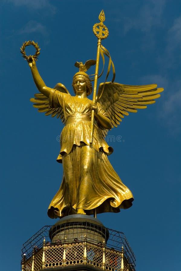 Statue de victoire à Berlin image stock