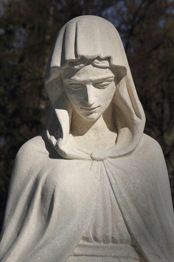 Statue de Vierge Marie photographie stock libre de droits