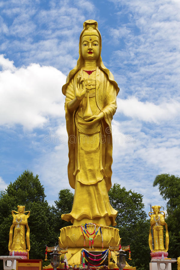 Statue de yin de Guan photo stock