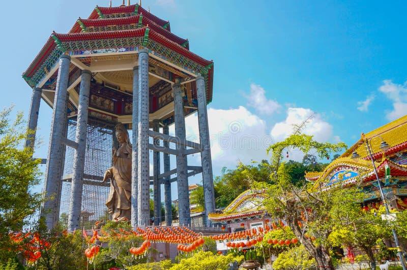 Statue de yin de Guan photographie stock libre de droits