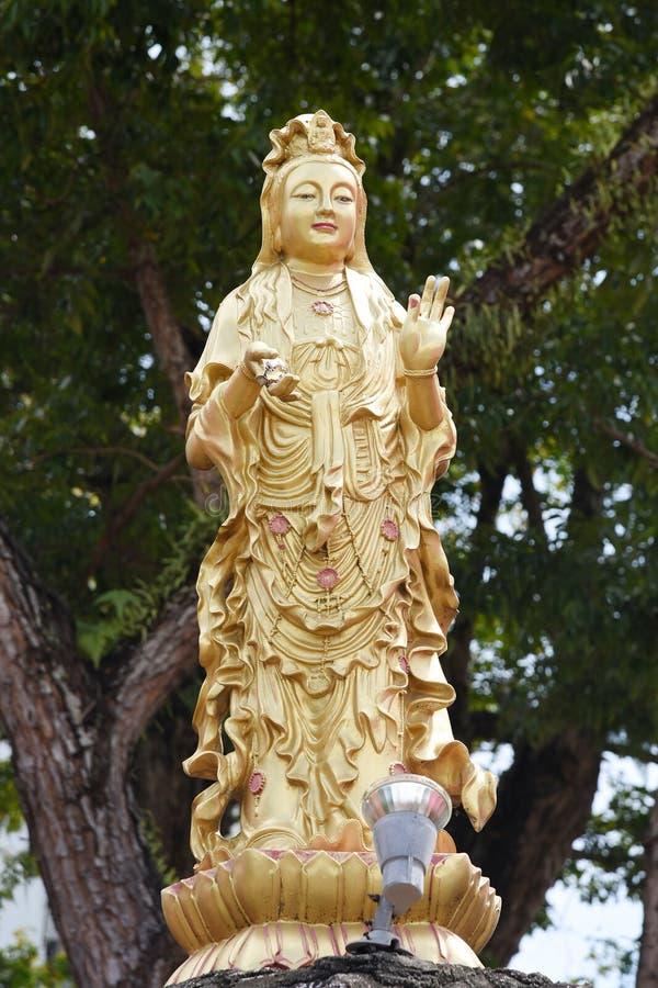 Statue de yin de Guan image libre de droits
