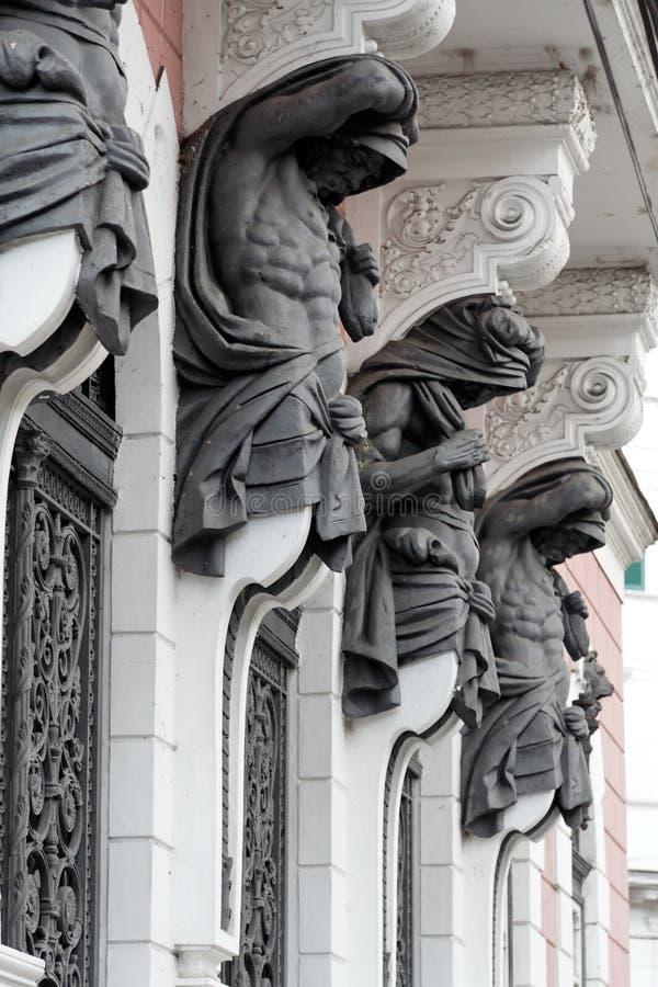 Statue degli uomini fotografia stock libera da diritti