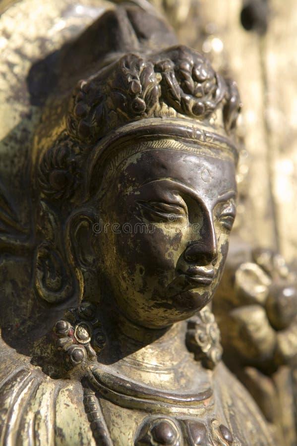 Statue der hinduistischen Göttin stockfoto