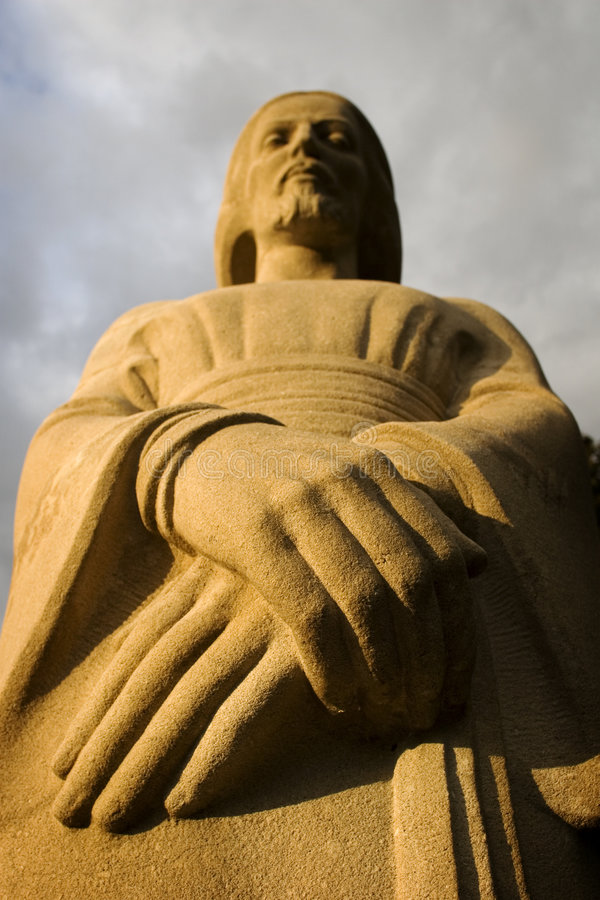 Statue der religiöser Figur lizenzfreies stockfoto