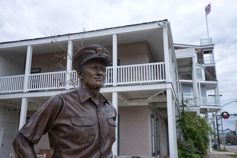 Statue des Admirals Nimitz stockbilder