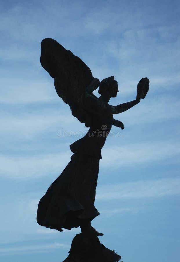 Statue des Engels stockbilder