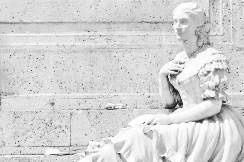 Statue des Flamencotänzers lizenzfreie stockfotografie