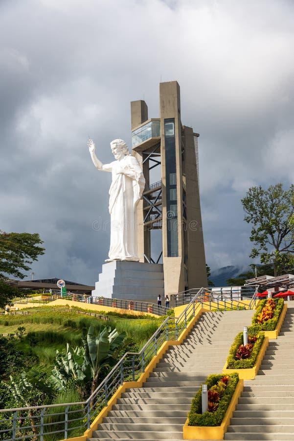 Statue des Jesus Christus lizenzfreie stockfotografie