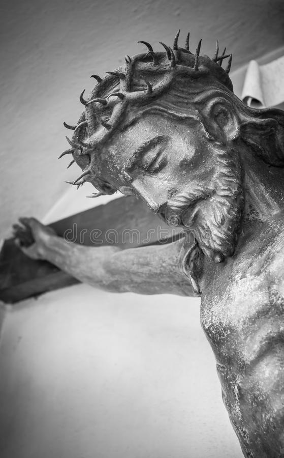Statue des Jesus Christus stockfotos