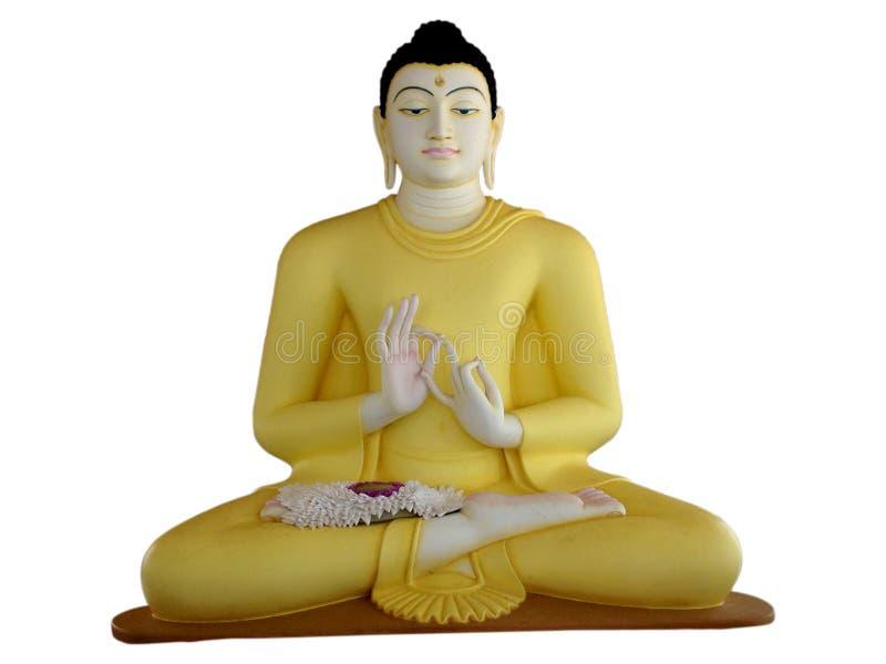 Statue des Lords Buddha lizenzfreie stockfotos