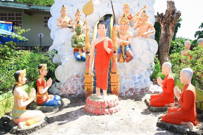 Statue des Lords Buddha stockbilder