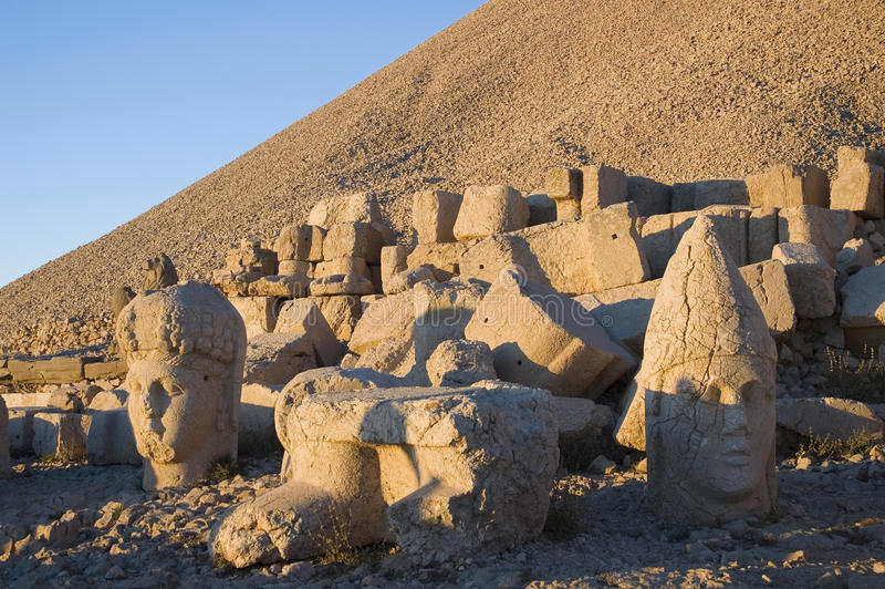 Statue di Nemrut immagini stock
