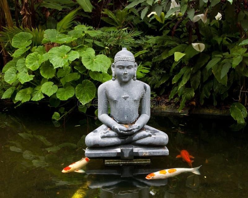 Statue du Bouddha image libre de droits