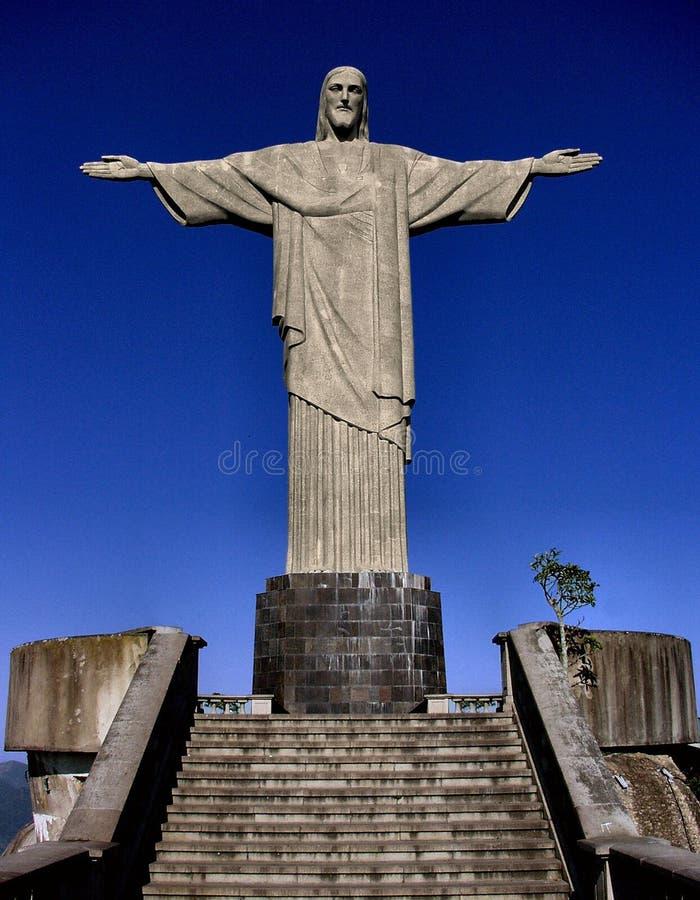 Statue du Christ images libres de droits