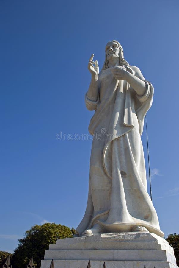 Statue du Christ, La Havane, Cuba photo stock