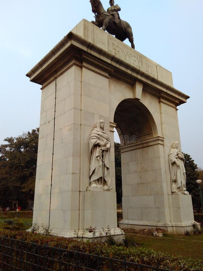 Statue eines Kriegers stockfotos