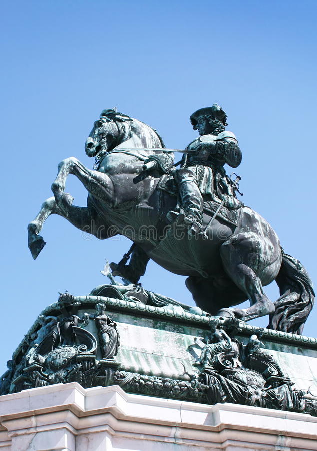 Download Statue Of Emperor Franz Joseph I Stock Image - Image: 11582593